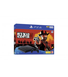 PLAYSTATION 4 CONSOLE 500GB/SLIM GAME RED DEAD REDEM  SONY