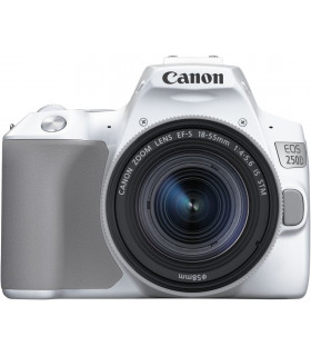 Canon EOS 250D + 18-55mm IS STM Kit, white