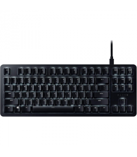 Razer BlackWidow Lite – Silent Mechanical Gaming Keyboard US Layout FRML (Orange Switch)