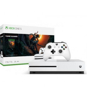 CONSOLE XBOX ONE X 1TB BLACK/GAME SH  TOMB RIDER MICROSOFT