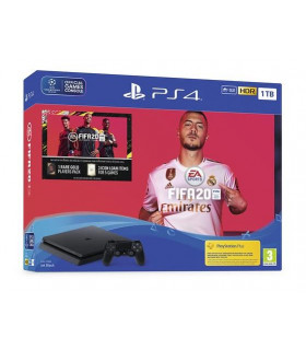 PLAYSTATION 4 CONSOLE 1TB SLIM//FIFA 20 SONY