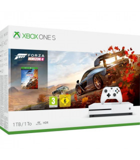 CONSOLE XBOX ONE S 1TB WHITE/GAME FORZA HORIZON 4 MICROSOFT