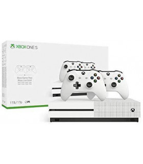 CONSOLE XBOX ONE S 1TB WHITE/2ND CONTROLLER MICROSOFT