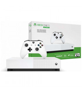 CONSOLE XBOX ONE S 1TB WHITE/MINE/SEAOFTHIEV/FORT MICROSOFT