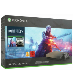 CONSOLE XBOX ONE X 1TB/GAME BATTLEFIELD 5 MICROSOFT