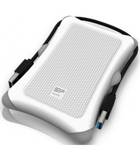 Silicon Power external hard drive Armor A30 1TB, white