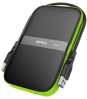 Silicon Power external HDD Armor A60 1TB, black