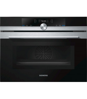 CM633GBS1S Siemens  Inox/Black Compact oven with m