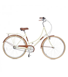 Holland 3 speed 700Cx35C, cream/brown 28