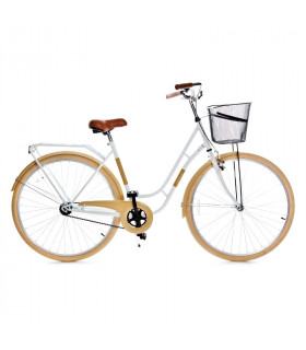 Holland single speed, white/beige  28''