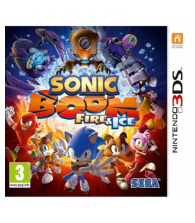 3DS Sonic Boom:Fire and Ice