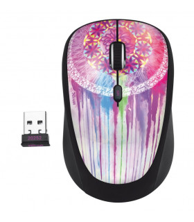 MOUSE USB OPTICAL WRL YVI/PURPLE DREAM 20252 TRUST