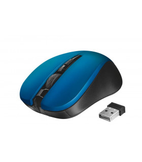 MOUSE USB OPTICAL WRL MYDO/SILENT BLUE 21870 TRUST