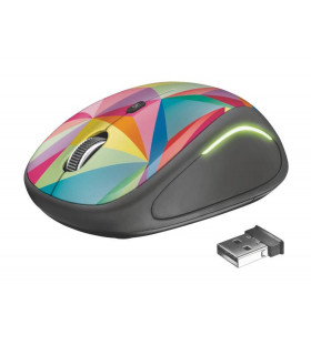 MOUSE USB OPTICAL WRL YVI FX/GEOMETRICS 22337 TRUST