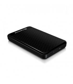External HDD  TRANSCEND  StoreJet  1TB  USB 3 0  Colour Black  TS1TSJ25A3K