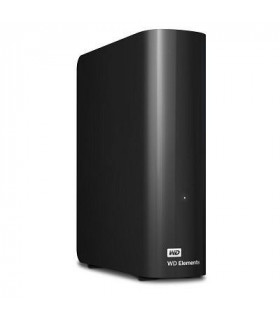 External HDD  WESTERN DIGITAL  Elements Desktop  3TB  USB 2 0  USB 3 0  Black  WDBWLG0030HBK-EESN