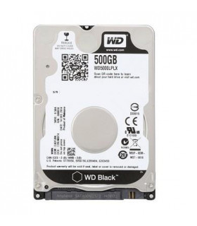HDD  WESTERN DIGITAL  Black  500GB  SATA 3 0  32 MB  7200 rpm  2,5   Thickness 7mm  WD5000LPLX