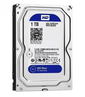 HDD  WESTERN DIGITAL  Blue  1TB  SATA 3 0  64 MB  5400 rpm  3,5   WD10EZRZ