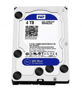 HDD  WESTERN DIGITAL  Blue  4TB  SATA 3 0  64 MB  5400 rpm  3,5   WD40EZRZ