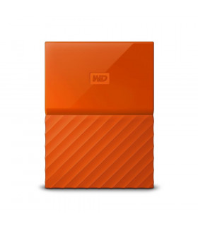 External HDD  WESTERN DIGITAL  My Passport  1TB  USB 3 0  Colour Orange  WDBYNN0010BOR-WESN
