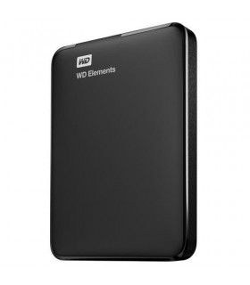 External HDD  WESTERN DIGITAL  Elements Portable  2TB  USB 3 0  Colour Black  WDBU6Y0020BBK-WESN