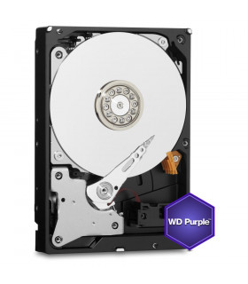 HDD  WESTERN DIGITAL  Purple  6TB  SATA 3 0  64 MB  5400 rpm  3,5   WD60PURZ