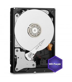 HDD  WESTERN DIGITAL  Purple  4TB  SATA 3 0  64 MB  5400 rpm  3,5   WD40PURZ