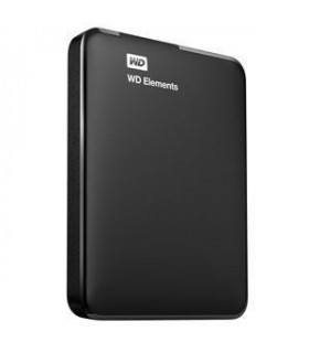 External HDD  WESTERN DIGITAL  Elements Portable  4TB  USB 3 0  Colour Black  WDBU6Y0040BBK-WESN