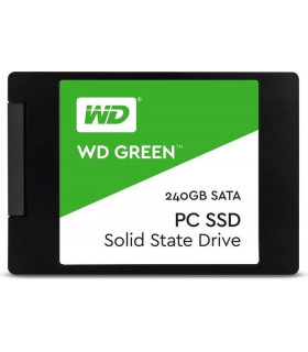 SSD  WESTERN DIGITAL  Green  240GB  SATA 3 0  TLC  Read speed 545 MBytes/sec  2,5   MTBF 1000000 hours  WDS240G2G0A