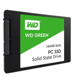 SSD  WESTERN DIGITAL  Green  120GB  SATA 3 0  TLC  Read speed 545 MBytes/sec  2,5   MTBF 1000000 hours  WDS120G2G0A