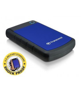 External HDD  TRANSCEND  StoreJet  1TB  USB 3 0  Colour Blue  TS1TSJ25H3B