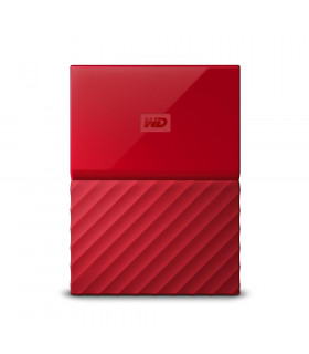External HDD  WESTERN DIGITAL  My Passport  1TB  USB 3 0  Colour Red  WDBYNN0010BRD-WESN