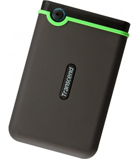 External HDD  TRANSCEND  StoreJet  2TB  USB 3 0  Colour Green  TS2TSJ25M3S