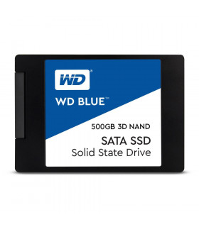 SSD  WESTERN DIGITAL  Blue  500GB  SATA 3 0  TLC  Write speed 530 MBytes/sec  Read speed 560 MBytes/sec  2,5   MTBF 1750000 hou