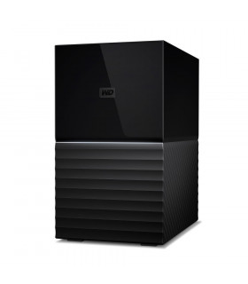 External HDD  WESTERN DIGITAL  My Book Duo  4TB  USB 3 0  USB-C  Black  WDBFBE0040JBK-EESN