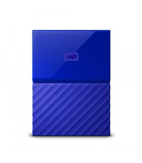 External HDD  WESTERN DIGITAL  My Passport  2TB  USB 3 0  Colour Blue  WDBS4B0020BBL-WESN