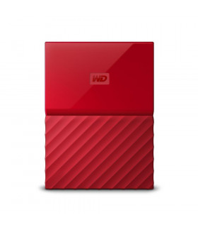 External HDD  WESTERN DIGITAL  My Passport  2TB  USB 3 0  Colour Red  WDBS4B0020BRD-WESN