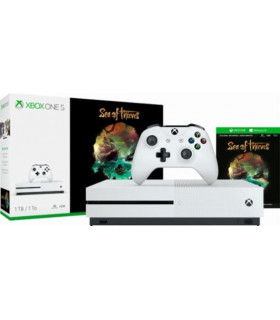 CONSOLE XBOX ONE S 1TB WHITE/GAME SEA OF THIEVES MICROSOFT