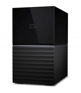 External HDD  WESTERN DIGITAL  My Book Duo  12TB  USB 3 0  USB-C  Black  WDBFBE0120JBK-EESN