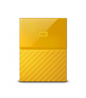 External HDD  WESTERN DIGITAL  My Passport  2TB  USB 3 0  Colour Yellow  WDBS4B0020BYL-WESN