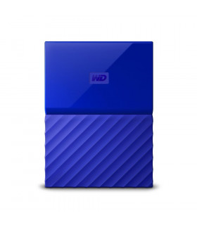 External HDD  WESTERN DIGITAL  My Passport  3TB  USB 3 0  Colour Blue  WDBYFT0030BBL-WESN