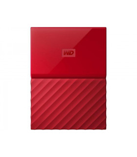 External HDD  WESTERN DIGITAL  My Passport  3TB  USB 3 0  Colour Red  WDBYFT0030BRD-WESN