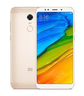 Smartphone  XIAOMI  Redmi 5 Plus  32 GB  Gold  3G  LTE  OS Android  Screen 5 99   1080 x 2160  IPS-LCD  Dual SIM  1xAudio-Out