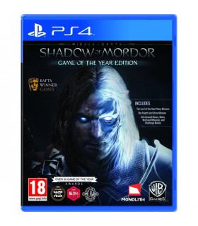PS4 Middle-Earth Shadow Of Mordor GOTY