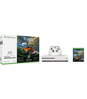 CONSOLE XBOX ONE S 1TB WHITE/GAME ROCKET LEAGUE MICROSOFT